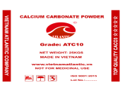 Coated Calcium Carbonate Powder ATC10