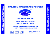 Uncoated Calcium Carbonate Powder AT10