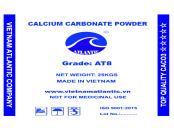 Uncoated Calcium Carbonate Powder AT8